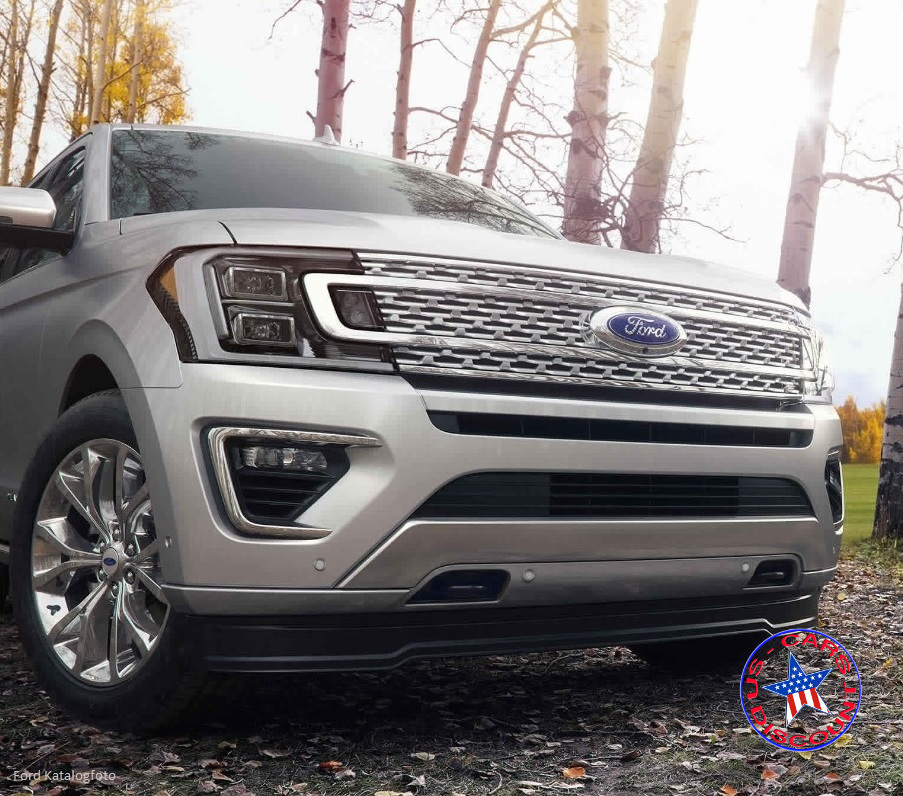 Ford Expedition 4×4 Platinum. Neues Modell 2019
